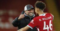 Rhys Williams Liverpool v Southampton May 2021