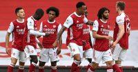 Gabriel Martinelli, Nicolas Pepe, Willian, Arsenal celeb
