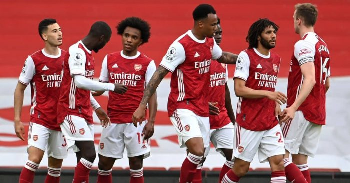 Gabriel Martinelli, Nicolas Pepe, Willian, Arsenal celeb