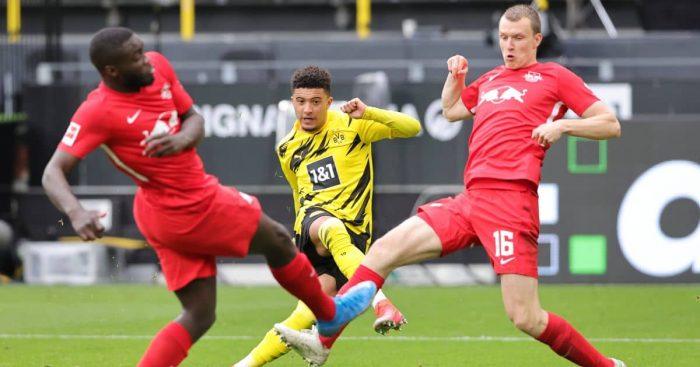 Jadon Sancho Borussia Dortmund v RB Leipzig May 2021