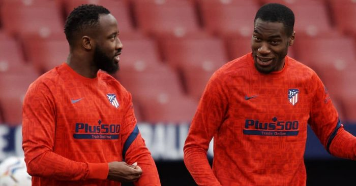 Moussa Dembele, Geoffrey Kondogbia Atletico Madrid