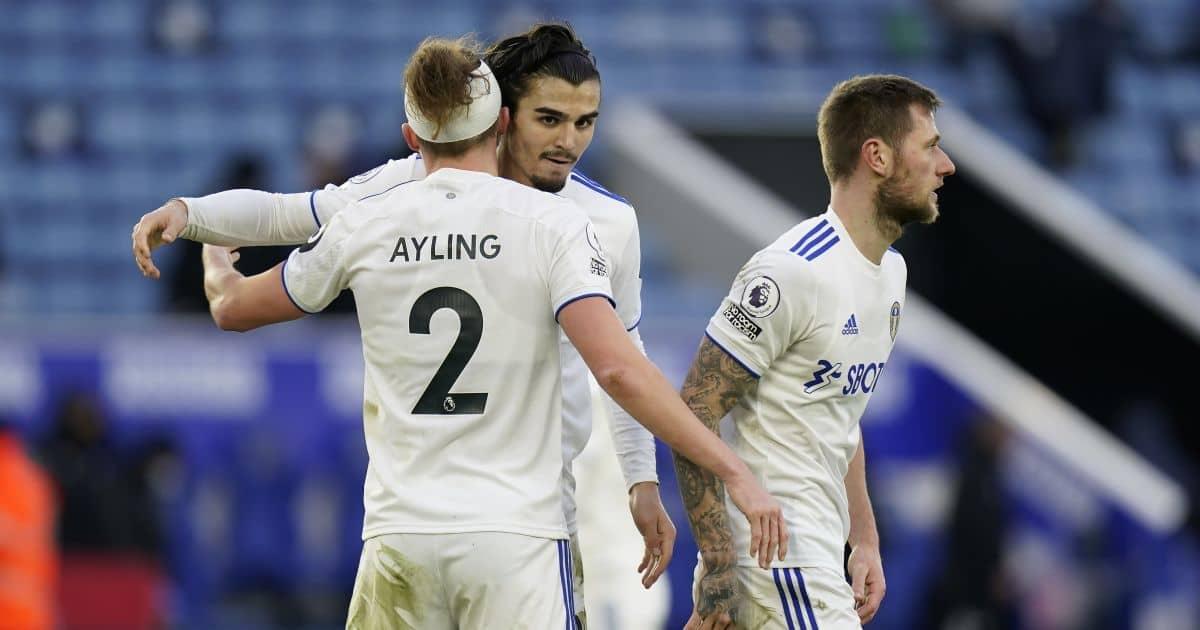 Pascal Struijk Leicester v Leeds January 2021
