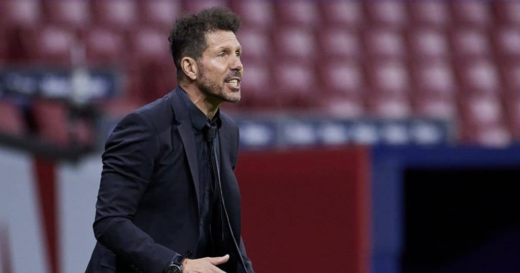 Diego Simeone Atletico Madrid v Real Sociedad May 2021