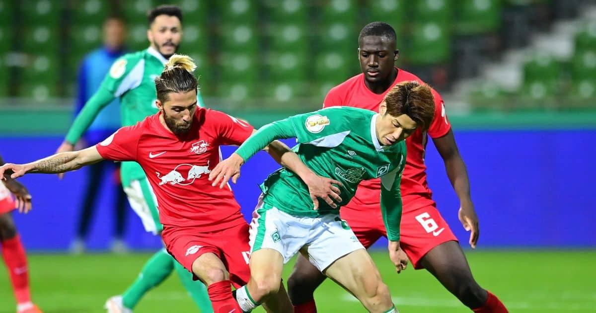 Ibrahima Konate Werder Bremen v RB Leipzig April 2021