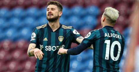 Mateusz Klich, Leeds goal celeb v Burnley