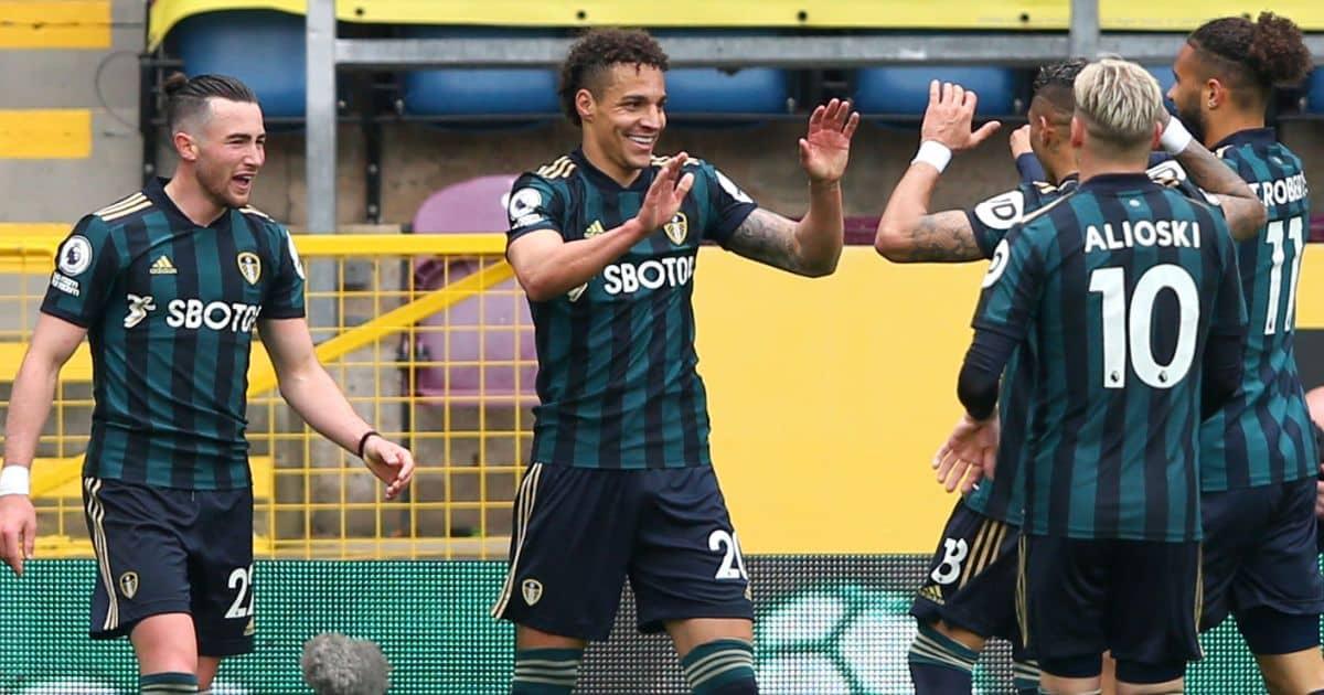Rodrigo goal Leeds celeb v Burnley