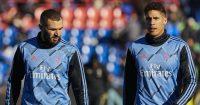 Karim Benzema, Raphael Varane, Real Madrid