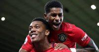 Anthony Martial, Marcus Rashford, Man Utd