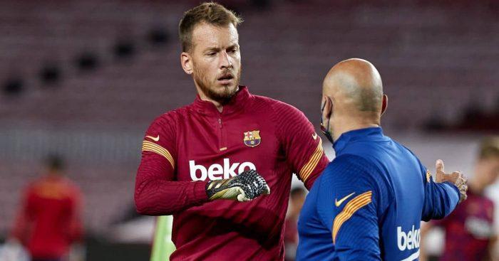 Neto Barcelona goalkeeper
