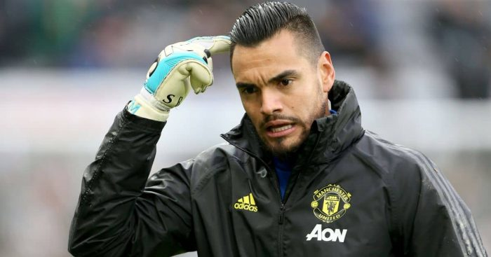 Sergio Romero, Man Utd's Argentine goalkeeper