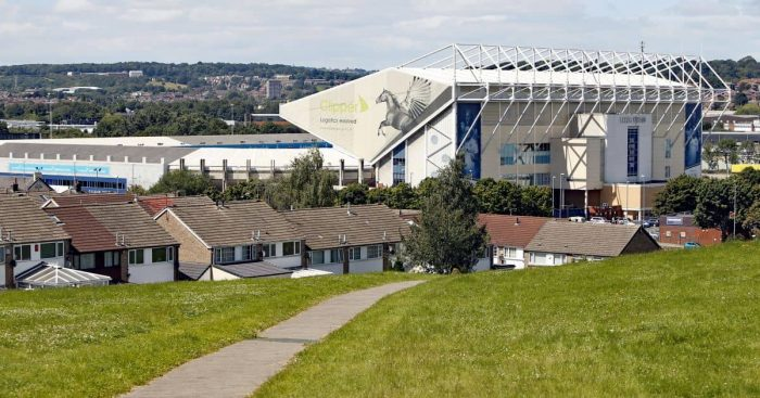 Elland Road from Beeston Hill general view, Leeds United