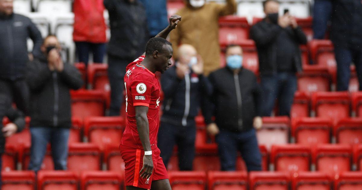 Sadio Mane Liverpool v Crystal Palace May 2021