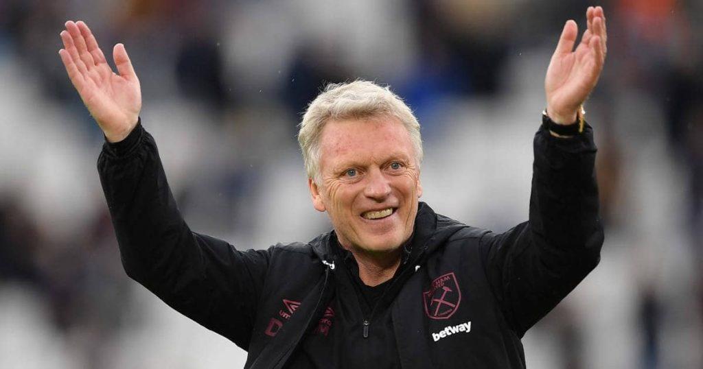 David Moyes West Ham celebration final day TEAMtalk