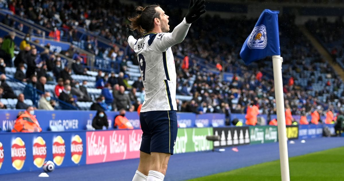 Gareth Bale Leicester v Tottenham May 2021