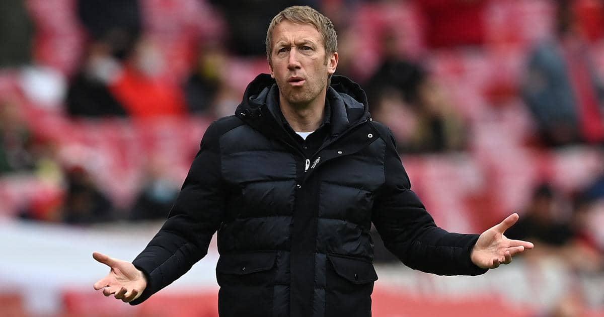 Brighton boss Graham Potter