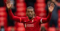 Georginio Wijnaldum, emotional Liverpool farewell