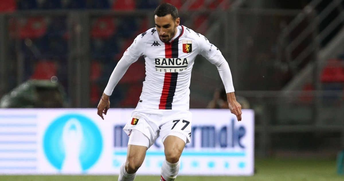 Davide Zappacosta Genoa, Chelsea loanee May 2021