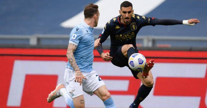 Davide Zappacosta Lazio v Genoa May 2021