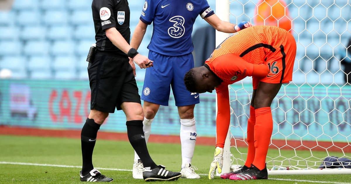 Edouard Mendy Injured at Villa ParkTEAMtalk