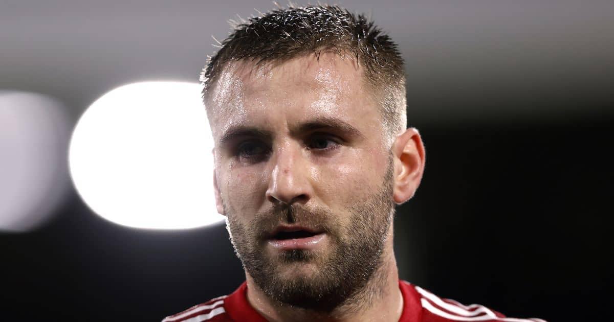 Luke Shaw head shot Man Utd TEAMtalk