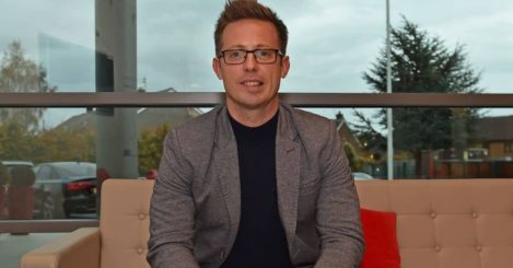 Michael Edwards, Liverpool sporting director, pic via Liverpool FC