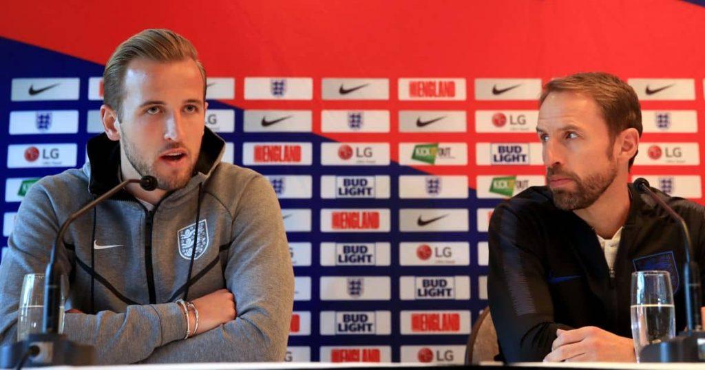 Harry Kane Gareth Southgate England press conferenceTEAMtalk