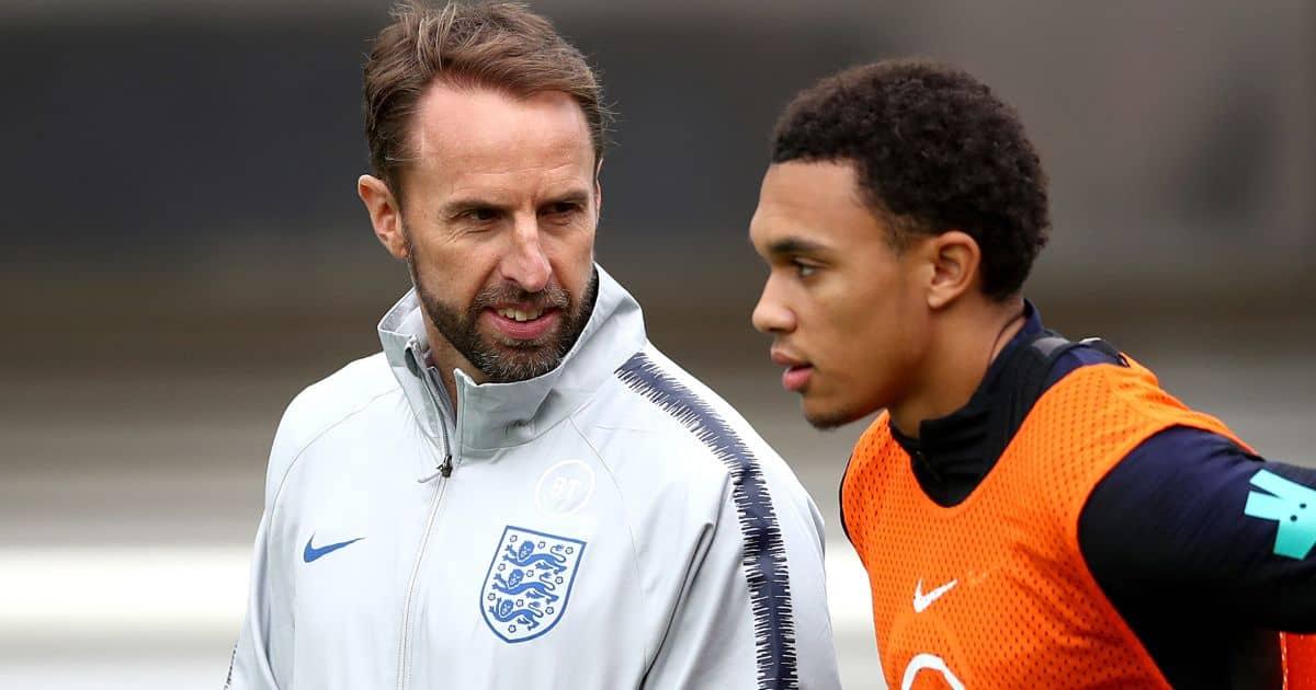 Gareth Southgate Trent Alexander-Arnold England training TEAMtalk