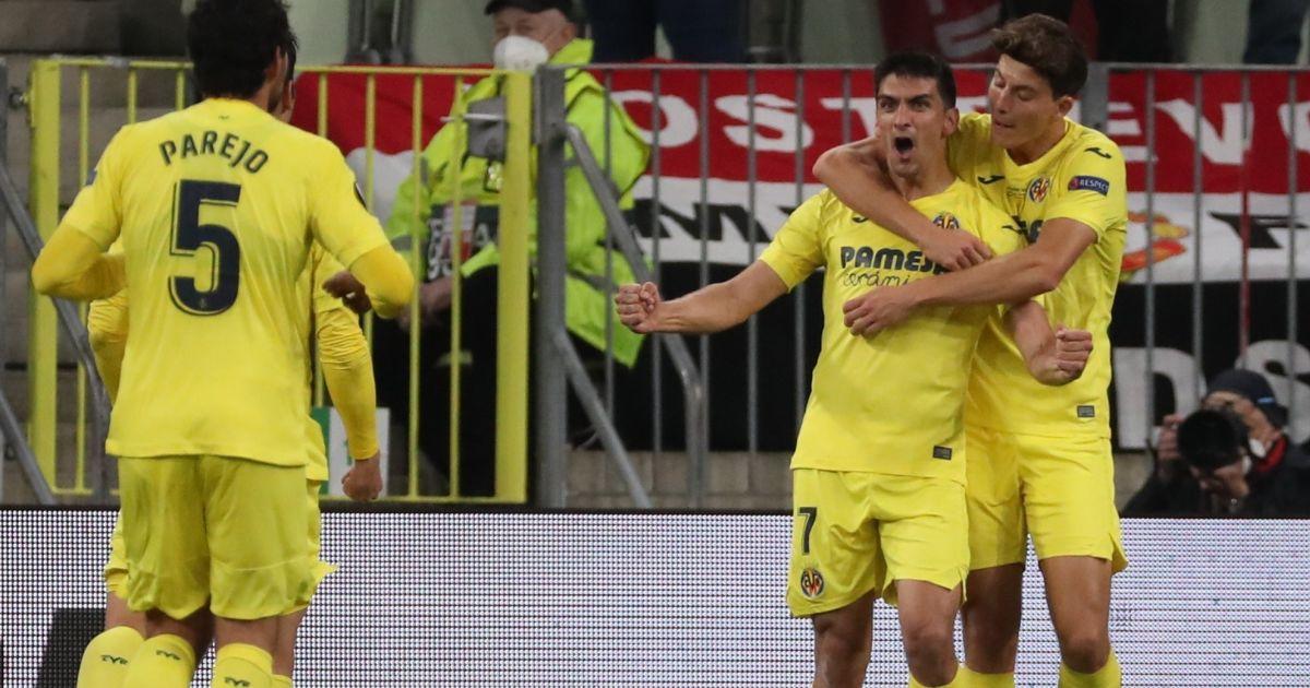 Gerard Moreno Villarreal Man Utd goal TEAMtalk