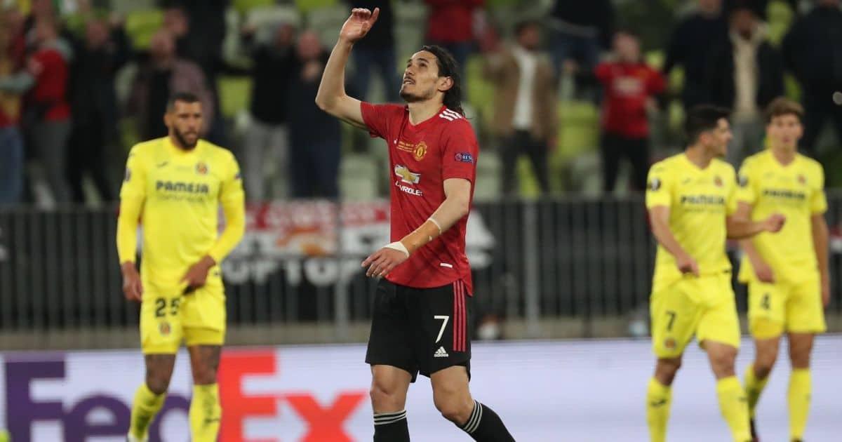 Edinson Cavani Europa League final goal TEAMtalk