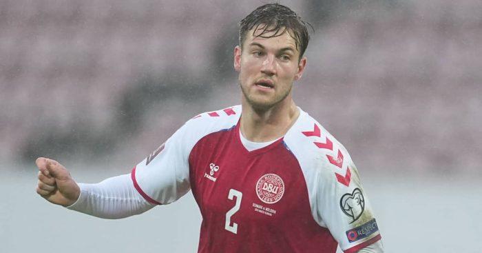 Joachim Andersen Denmark international, March 2021