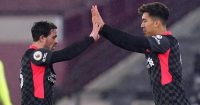 Xherdan Shaqiri substitute Roberto Firmino, Liverpool, January 2021