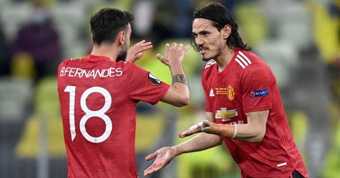 Fernandes Cavani Europa League finalTEAMtalk