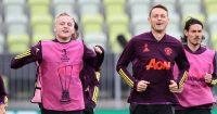 Donny van de Beek Nemanja Matic training Man Utd TEAMtalk
