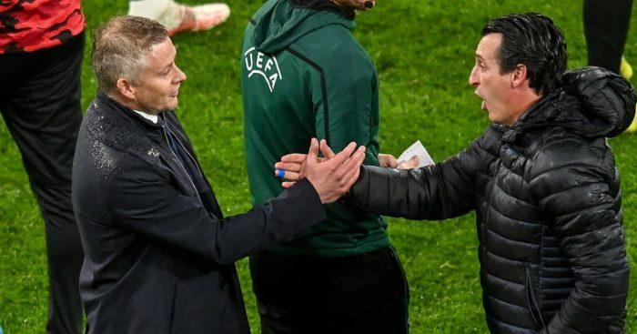 Ole Gunnar Solskjaer Unai Emery Europa League final TEAMtalk