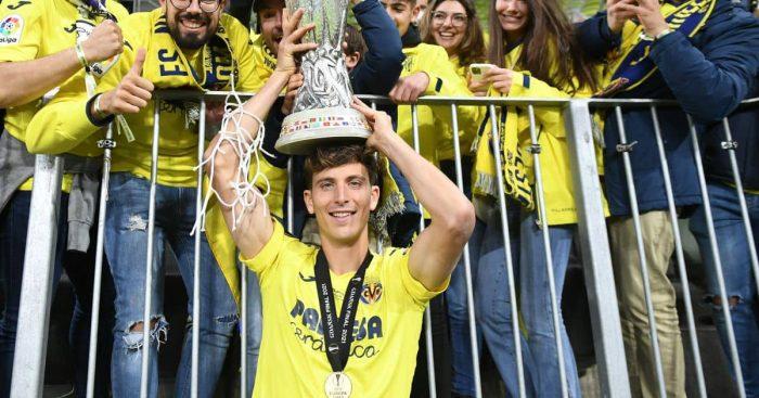 Pau Torres Europa League Trophy Gdansk TEAMtalk