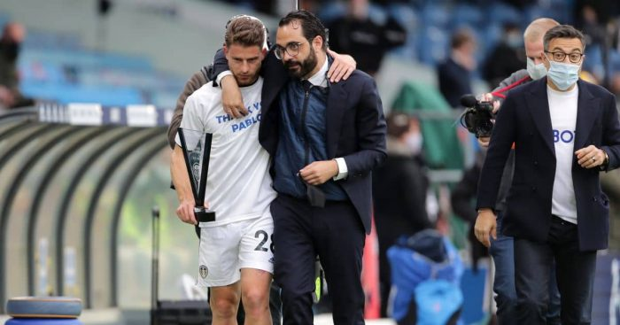 Victor Orta Leeds v West Brom May 2021