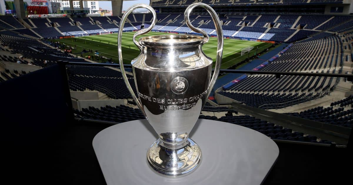 Champions League trophy, Estadio do Dragao, Man City v Chelsea, TEAMtalk