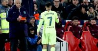 Philippe Coutinho. substituted Liverpool v Barcelona 2019