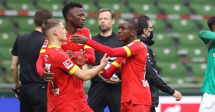 Edmond Tapsoba Werder Bremen v Bayer Leverkusen May 2021