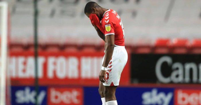 Chuks Aneke Charlton v Crewe Alexandra April 2021