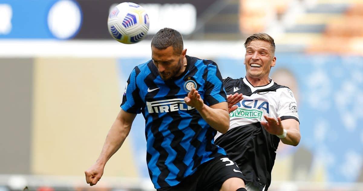 Danilo D'Ambrosio Inter v Udinese May 2021