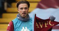 Jack Grealish, Aston Villa corner flag pose