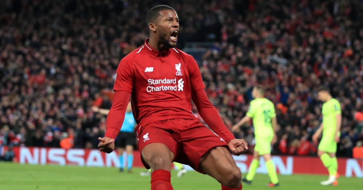 Georginio Wijnaldum, Liverpool goal v Barcelona Champions League semi-final May 2019, TEAMtalk