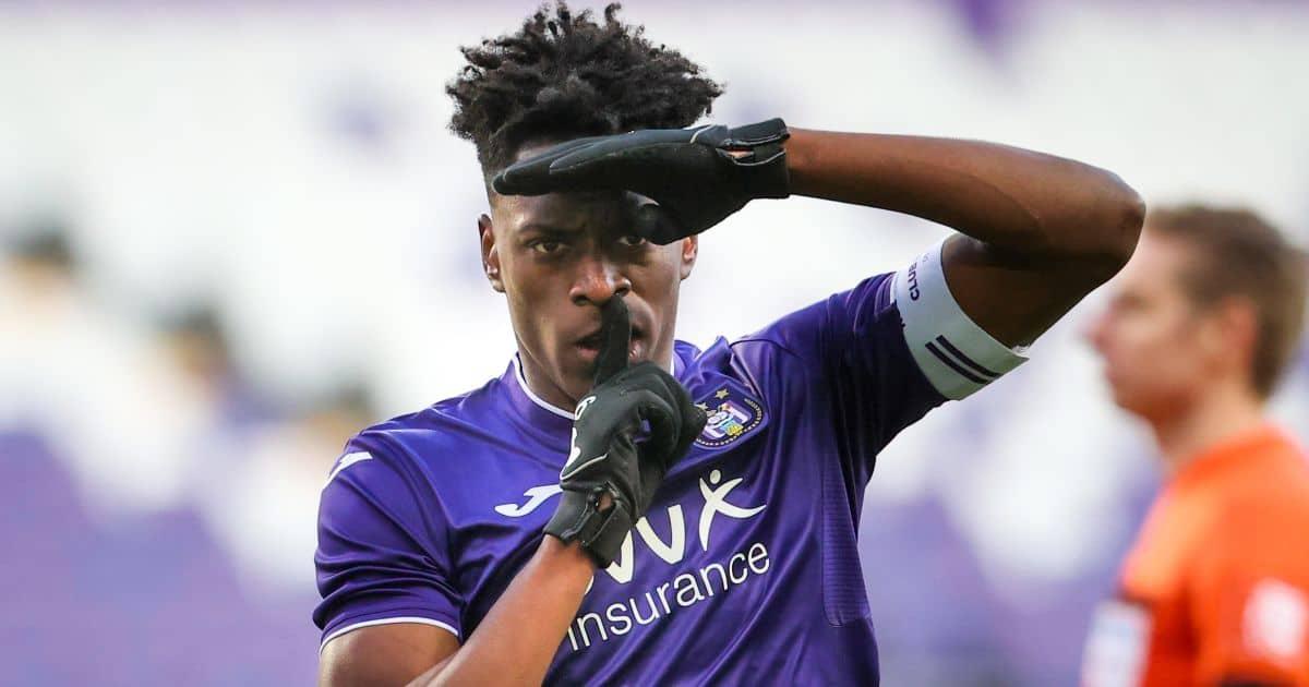 Albert Sambi Lokonga, Anderlecht midfielder