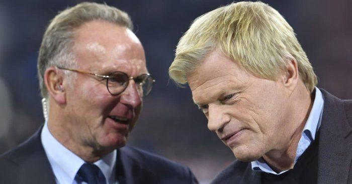 Karl Heinz Rummenigge, Oliver Kahn, Bayern Munich