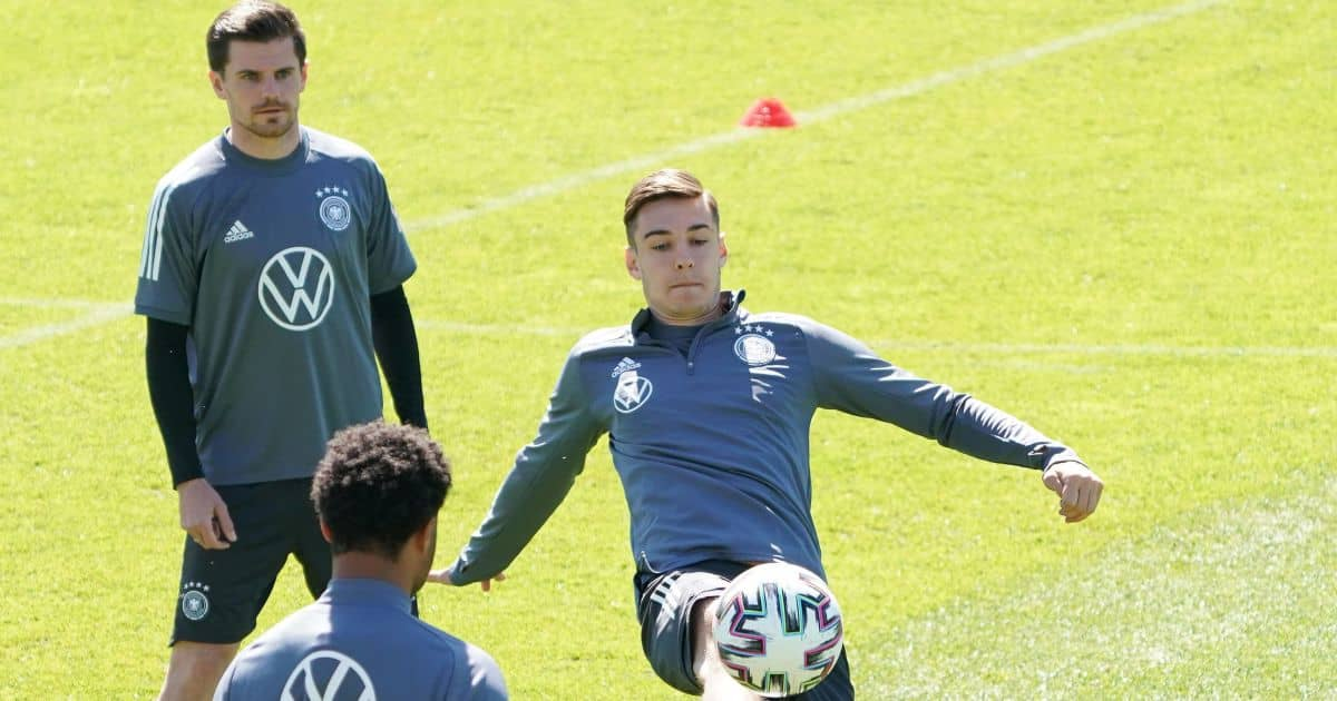 Florian Neuhaus Borussia Monchengladbach, Germany May 2021