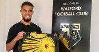 Imran Louza pic via Watford FC