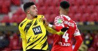 Jadon Sancho, Jeremiah St. Juste Mainz v Borussia Dortmund May 2021