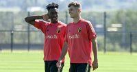 Albert.Sambi, Zinho Vanheusden.Lokonga.Belgium.2021.TEAMtalk1
