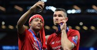 Dejan Lovren, Rhian Brewster Tottenham v Liverpool June 2019